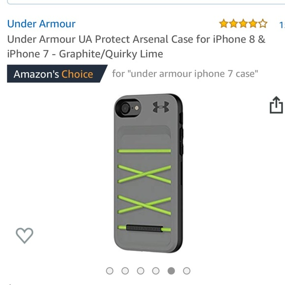 premium selection e02f7 693be Under Armour UA Protect Arsenal Case IPhone 7/8